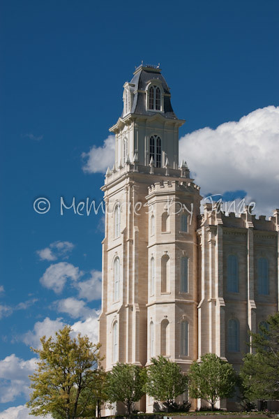 Manti Vintage LDS Temple Prints -2
