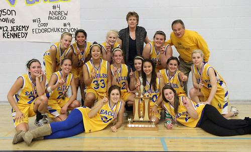 Sr. Girls Basketball Gold - Dryden Eagles