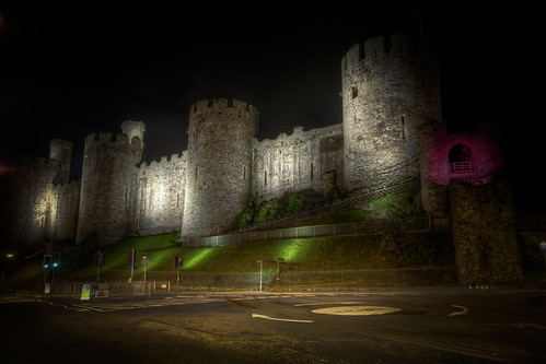 823/1000 - Conwy Castle by Mark Carline