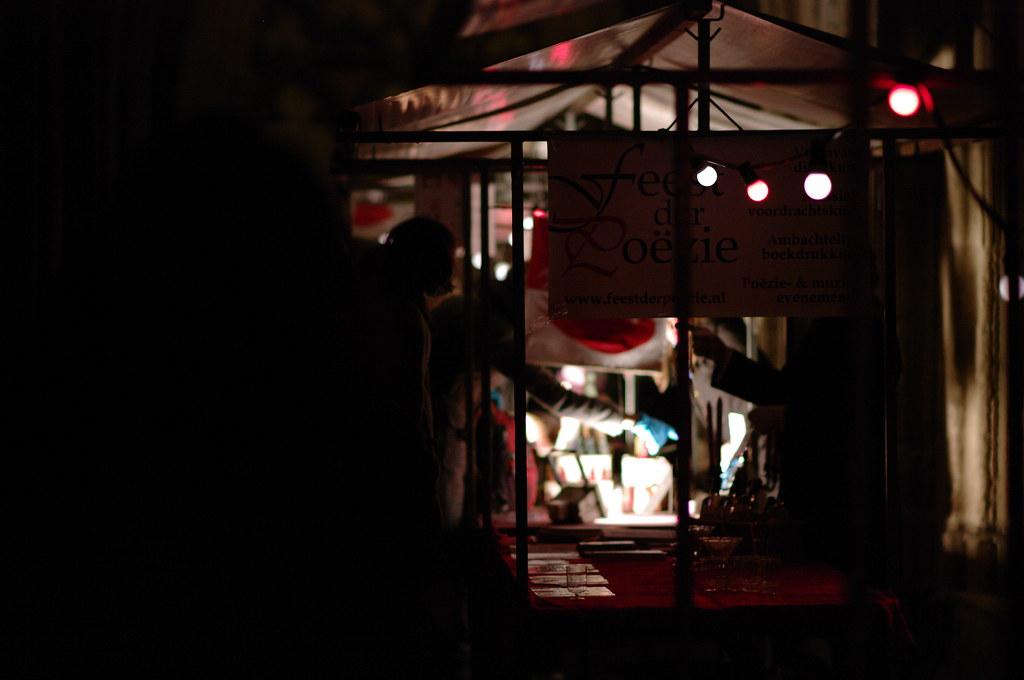 Feest der Poëzie, Lichtjes Bazaar, Utrecht