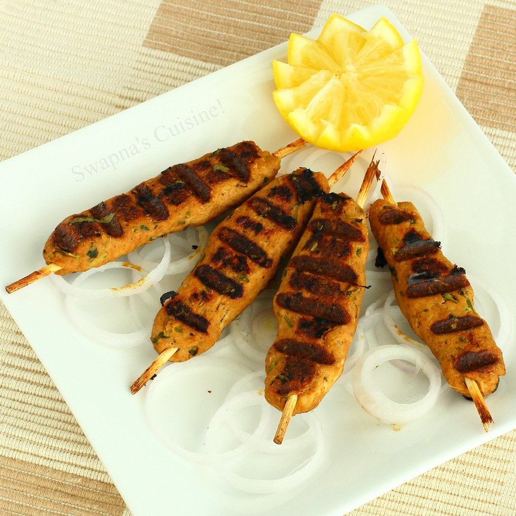 how to cook frozen chicken seekh kabab