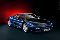 Ferrari 355 (AndWhyNot) Tags: light lightpainting car wheel painting studio flow paint images ferrari clean exotic grille supercar v8 alloy f355 tdf 355 lightpaint