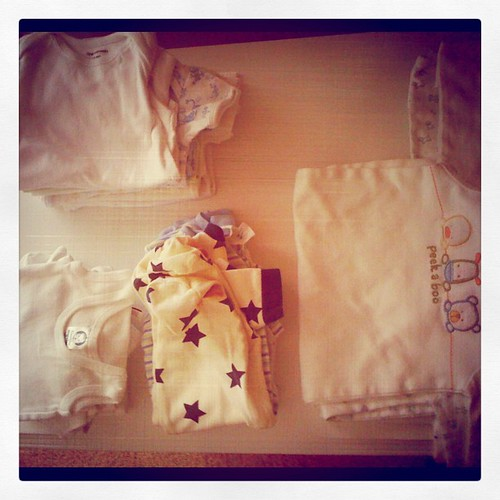 A year ago, on a snowy weekend, I washed a load of newborn clothes. Just to have them ready. 5 days later, I'd be packing them in a suitcase to go get my son.