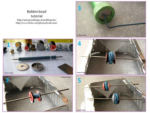 Bobbin bead tutorial