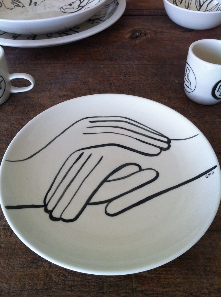 Poketo Blog Geoff Mcfetridge And Heath Ceramics