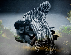 now i lay me down to sleep (SARA LEE) Tags: sleeping bay couple underwater australia spoon dreaming blanket nsw dreams cuddle series griffith byron laurens daven goldcoast qca photoimaging sarahlee vivantvie