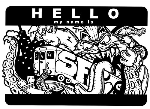 Hello my name is SuperFatCat by SFC...Creature Ink.