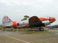 C-46D 91-1138 (wembleybob) Tags: museum hamamatsu curtiss c46 jasdf rjnh 911138