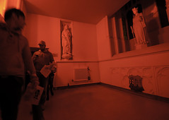 The Red Hallway (Greg Annandale) Tags: street game halloween dark bristol nikon october shadows ripple follow experience scarey splash scare fright guildhall d90 streetgame splashripple shadowsfollow