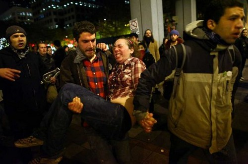 Seattle woman peppersprayed