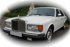 White Rolls Royce Wedding Car (cavendishweddingcars) Tags: wedding kent rollsroyce cavendish weddingcar carhire
