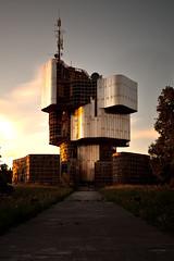 Croatia - Petrova Gora (sadaiche (Peter Franc)) Tags: longexposure sunset abandoned croatia structure urbex petrovagora