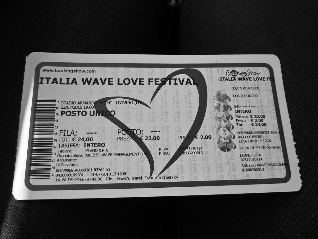 italia wave love festival, livorno