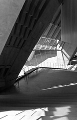 Jrn Utzon_Sydney Opera House #25 (Ximo Michavila) Tags: shadow sunlight abstract geometric lines architecture stairs concrete grey blackwhite opera perspective sydney australia diagonal repetition auditorium utzon architecturephotography archidose ximomichavila