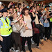 One Direction arrive at Dublin airport ahead of promoting their new album 'Up All Night' at Tesco Extra Maynooth in Kildare Dublin, Ireland