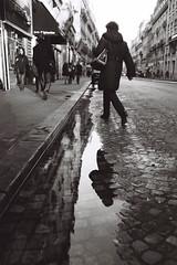 Rue de la Pépinière (Airicsson) Tags: street leica urban blackandwhite bw paris analog 35mm vintage summicron m6 blackwhitephotos