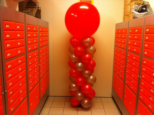 Ballonpilaar Breed Rond Cigo Rotterdam