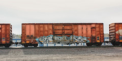 Aspekt (The Braindead) Tags: color art beautiful car minnesota train bench dead photography graffiti high amazing cool nice interesting flickr box good quality painted awesome tracks free minneapolis twin rail brain explore most beyond neat the cites flickrs aspekt benched