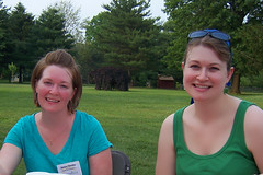 Pennypack Farm's Janice Blade and Heather Sullivan (see Notes at right…)