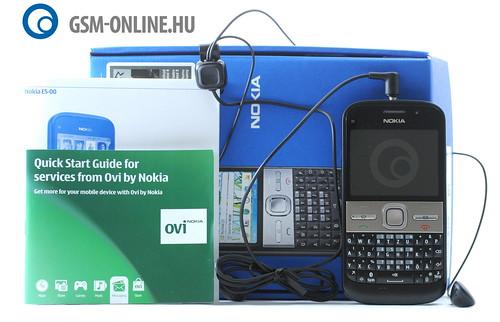Nokia E5 tartozékok