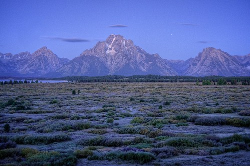 Dawn at Mount Moran