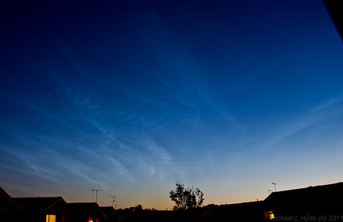 Noctilucent Clouds 290611 by Mick Hyde