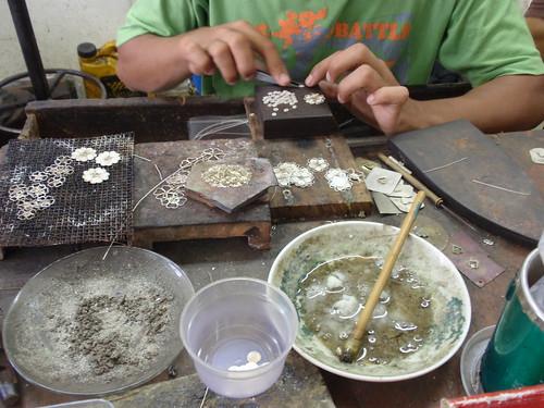 Kota Bharu Silversmithing