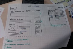 Our wireframes