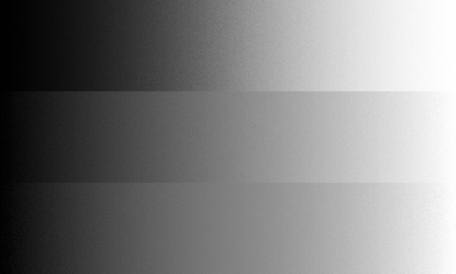 Grayscale with contrast adjustments