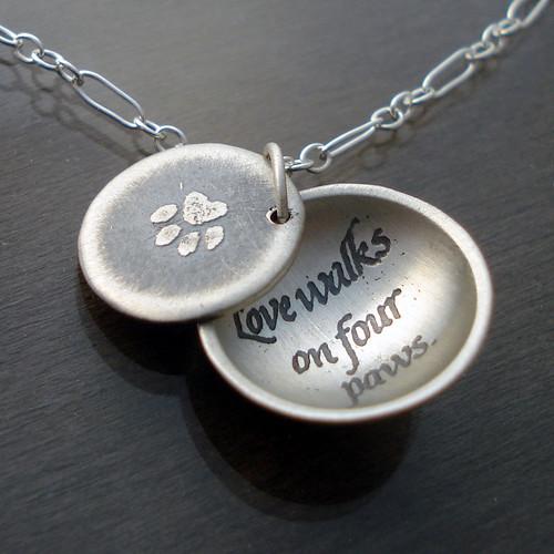 Love Walks Necklace