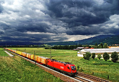 Felhk (tau280) Tags: color train sterreich engine rail railway trains locomotive taurus freight bb ausztria lok gter gterzug obb felhk stlorenzen 1116 sznek tehervonat vast knittelfeld wortmarke mozdony bundesbahnen teher vasutak rh1116 ringexcellence fentsch freughttrain sterrechische
