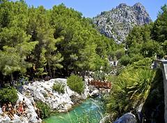 Fonts del Algar 2 (Smirfman) Tags: mountains water rocks stream pools waterfalls cascade benidorm costablanca callosadensarria sonyalphaa55018200mmpanoramicstitchedphotoshopwideanglefontsdelalgar