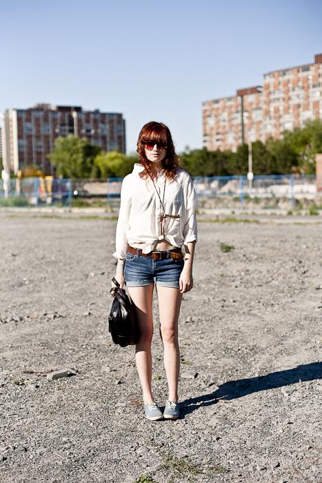 Summer Sun, Street Fashion @ Regent Park, Toronto