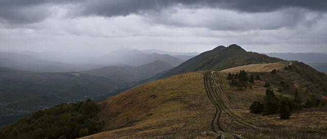 Markotkhsky Ridge