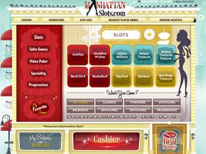 Manhattan Slots Casino Lobby