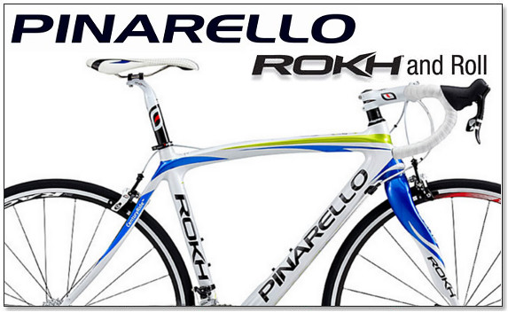 Pinarello ROKH - New for 2012 and in stock at Glory