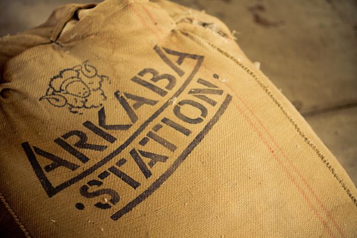 Arkaba Station branded wool bag