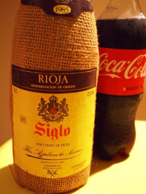 Rioja Wine & Coca Cola