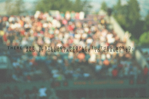 people colorful bokeh quote text crowd grain quotes 365 (Photo: empress jacqueline ♛♫ on Flickr)