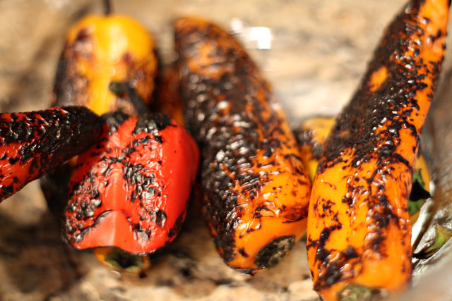 002 Roasted bell peppers