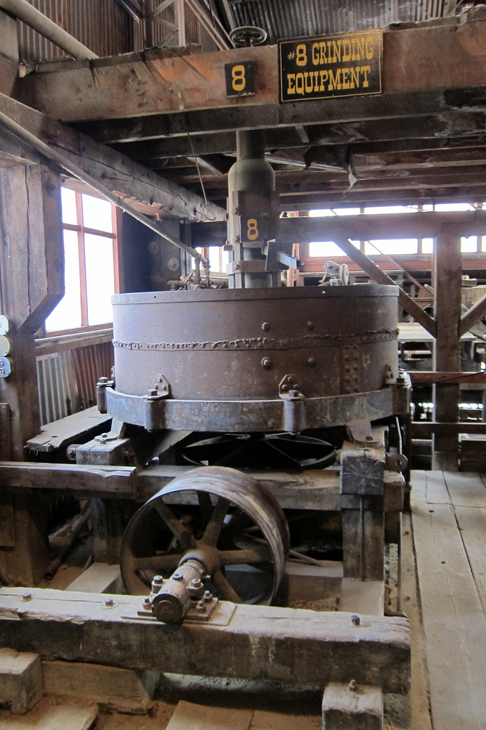 Colorado - Idaho Springs: Argo Gold Mine and Mill - Grinding Equipment - Arrastra