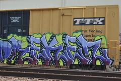 Reken (nunya...nunyabusiness) Tags: art train graffiti paint spraypaint tbox ttx reken
