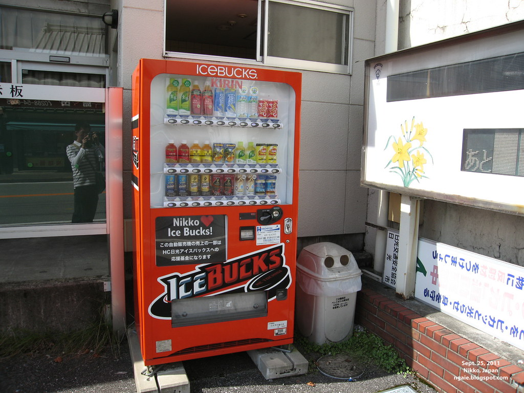 """Ice Bucks"" Vending Machine"