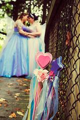 SPARKLE WEDDING! <3 (bridget_plus_jenn) Tags: pink blue gay orange newyork color green love yellow glitter fairytale forest lesbian rainbow woods colorful handmade pastel joy violet glbt sparkle fairy bridesmaids lgbt lanterns periwinkle romantic dreamy weddings fairies lesbians magical gaymarriage legal whimsical offbeat nontraditional unitarianuniversalistchurch fairywings twobrides nonwhitedresses