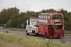 LT RM2112 (CUV112C) A1 ST NEOTS 081011 (David Beardmore) Tags: routemaster derelict parkroyal londontransport londonbuses aec londoncentral associatedequipmentcompany rm2112 cuv112c