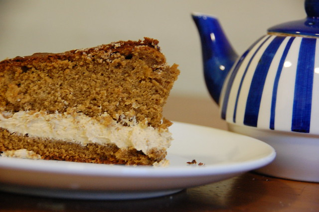 Coffee Cake With Teapot