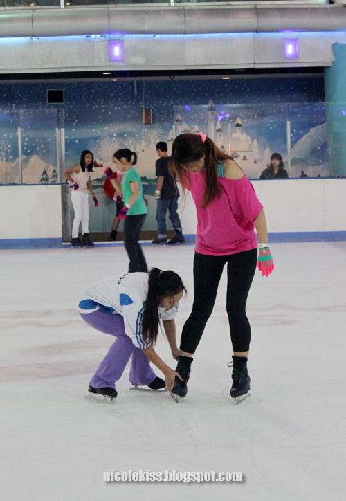 ice skate coaching