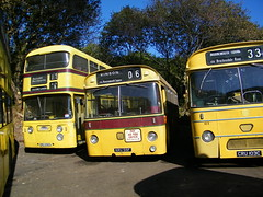 A fair few miles west of Bournemouth ... (Renown) Tags: heritage buses museum transport devon leopard preserved alexander bournemouth willowbrook coaches doubledecker daimler preservation leyland openday weymann src6 winkleigh atlantean roadliner singledecker psu3 pdr1 srp8 oru230g cru103c kru55f