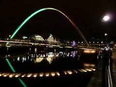 Gateshead Millennium Bridge (chdphd) Tags: bridge newcastle millennium gateshead