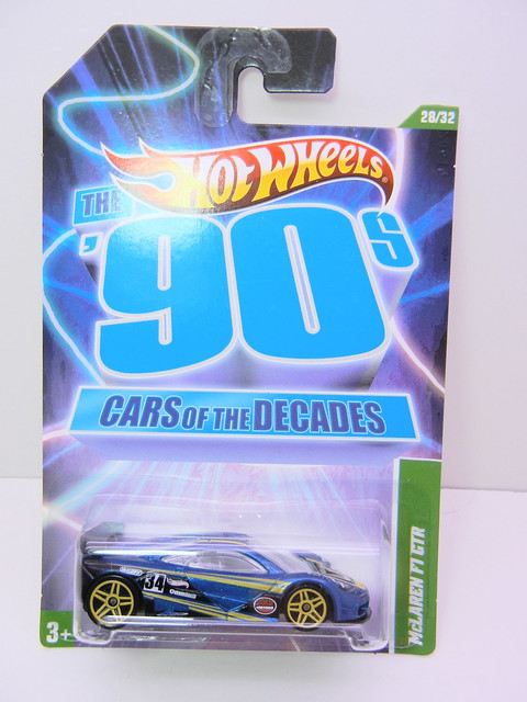 hot wheels decades 90's mclaren f1 gtr (1)
